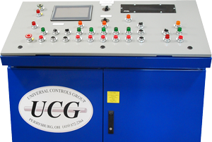 metalforming machine control panel